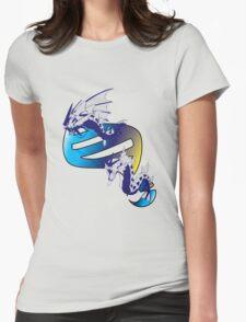 Mega Gyarados Evolution Womens Fitted T-Shirt