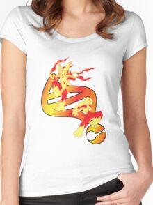 Mega Blaziken Evolution Women's Fitted Scoop T-Shirt