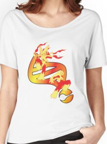 Mega Blaziken Evolution Women's Relaxed Fit T-Shirt