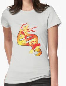 Mega Blaziken Evolution Womens Fitted T-Shirt