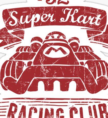 Kart Racing Club Sticker