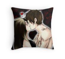 Manga Anime Comic Kiss  Throw Pillow