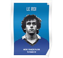My Platini soccer legend poster Poster
