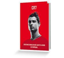 My Ronaldo soccer legend poster Greeting Card