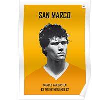 My van Basten soccer legend poster Poster