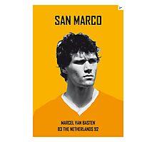My van Basten soccer legend poster Photographic Print