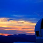 Telescope Sunset by Peter Holland