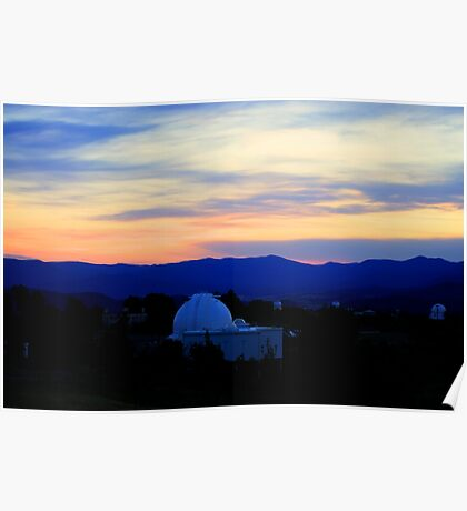 Valley of the Telescopes Poster