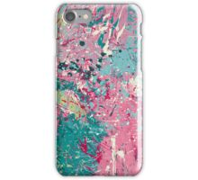 Pollock Style Paint Spatter 1 iPhone Case/Skin