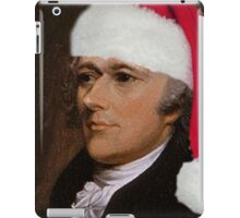 Alexander Hamilton with Santa Hat iPad Case/Skin