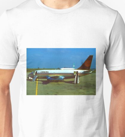 Orion Airways Boeing 737 Unisex T-Shirt