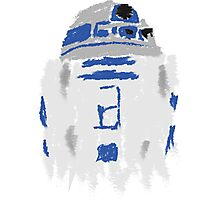 Droid Paint Photographic Print