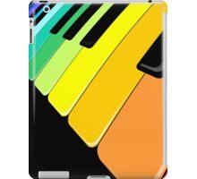 Piano Keyboard Rainbow Colors  iPad Case/Skin