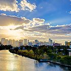 Sunrise over Miami by njordphoto