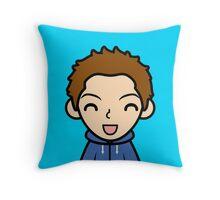 Cushion - blue background Throw Pillow