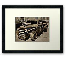 Rustic Loader Framed Print