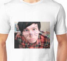 AmazingPhil/Phil Lester Cat Face Design Unisex T-Shirt