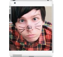 AmazingPhil/Phil Lester Cat Face Design iPad Case/Skin