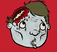 Zombie Head by suitcasenuke