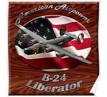 B-24 Liberator American Airpower Poster