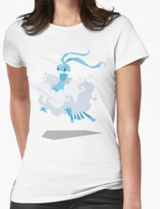 Cutout Altaria Womens Fitted T-Shirt