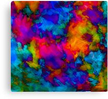 vibrant abstract color explosion  Canvas Print