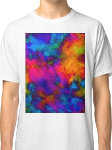 vibrant abstract color explosion  Classic T-Shirt