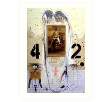 42 PASOS (42 steps) Art Print