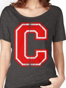 Big red Letter C Women's Relaxed Fit T-Shirt