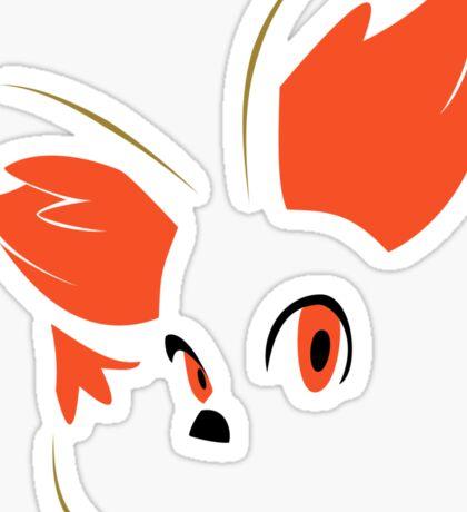 Pokemon - Minimalist Fennekin Sticker