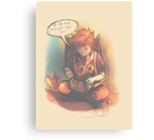 I'd Like to Be Kind - [Mother 3] Canvas Print