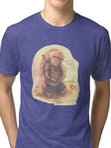 Encounter with Save Frog Tri-blend T-Shirt