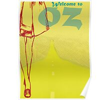 Welcome to OZ Poster