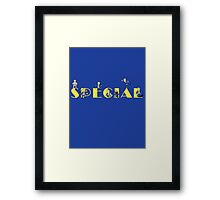 Fallout - SPECIAL Perks Framed Print