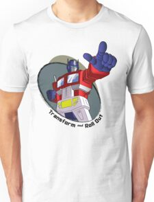 Optimus Prime - Transform and Roll Out Unisex T-Shirt