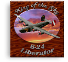 B-24 Liberator King Of The Sky Canvas Print