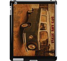 Retro 80's Van iPad Case/Skin
