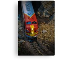 Toy Train III ~ Miniatures Series  Canvas Print