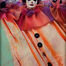 Clown of Venetian Carnival by zinchik