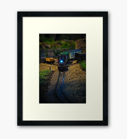 Toy Train IV ~ Miniatures Series  Framed Print