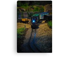 Toy Train IV ~ Miniatures Series  Canvas Print