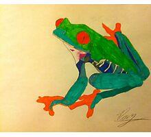 Frogger Photographic Print