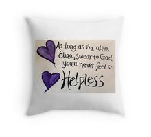 Helpless (Hamilton Musical) Throw Pillow