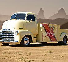 1953 Chevrolet 5700 COE 'Car Hauler' by DaveKoontz
