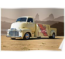 1953 Chevrolet 5700 COE 'Car Hauler' Poster