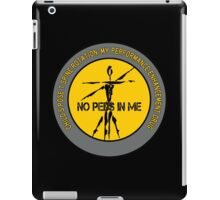Child's Pose T Spine Rotation - My Performance Enhancement Drug iPad Case/Skin