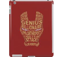 Mask iPad Case/Skin
