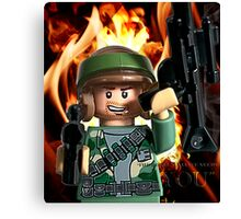 Lego Rebels Wants You! Canvas Print