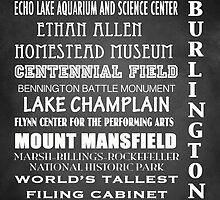Burlington Famous Landmarks by Patricia Lintner