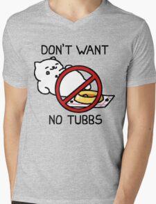 Neko Atsume - Don't Want No Tubbs Mens V-Neck T-Shirt